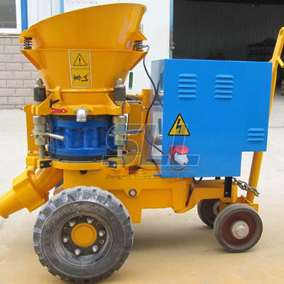 China CE Safety Standard Concrete Cement Sprayer , Small Dust Portable Concrete Pump supplier