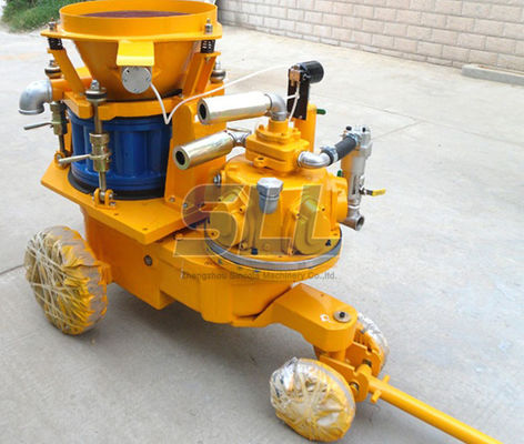 China Mining Used Air Motor Portable Shotcrete Machine Stable Performance Easy Operation supplier